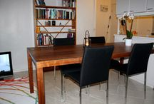 Dining area / Home, interior, design, dining room, dining area, tables and chairs