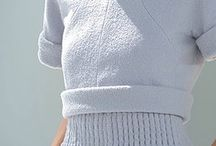 Pleteném šaty