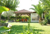 Villa Annilena's Garden / The hotels is surrounded by a  highly looked after 3 –acre garden. In the garden there is a barbecue area, a shaded seating area and free private parking.