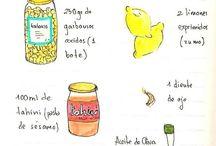 Receptes / by Rous AF