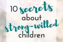 Strong will children