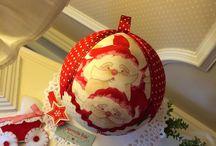 """Bolas """"Merry Christmas"""" /  Bolas de decoración para Navidad"""