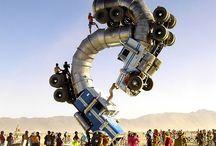 Y Burning Man