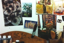 Artist's studios and workshops / Beautiful and inspirational studio spaces from around the world.
