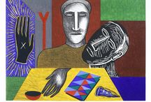 Art - Italy - Mimmo Paladino / Mimmo Paladino (1948-) is an Italian sculptor, painter and printmaker.