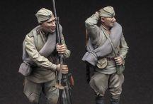 World War 2 Soviet Figures 1/35 Scale
