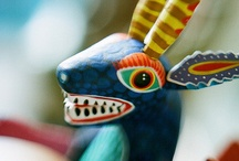 Mexiko - figurky zvířat