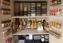 Kitchen cupboard organisation