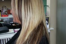 Hollywood Blonde Hair / Our cut, color and styles! www.hollywoodblondesalon.com