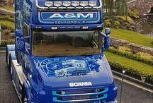 Trucker - MOBILNÍ GALERIE - SCANIA T.   Airbrush I.