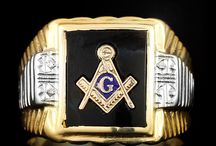 Masonic Jewelry / by The Castle Jewelry Discounters of Diamonds and Fine Jewelry