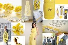 """Lemon Zest /   Feel the zest with Lemon Zest color in 2013 A """"Blissful Celebrations"""" Inspiration board. Dallas, Texas 469-442-0155 www.BlissfulCelebrations.com"""