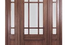 Craftsman Style Doors / Fitting right into homes built in the arts and crafts style of the early 1900's, our Craftsman Style Doors bring a bit of character and history into any home they grace. With a selection of creative and colorful glass designs, all set in doors of lovely mahogany, the collection makes it easy to embrace a new door, while keeping a home's historical style.