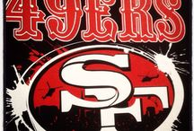 49er Nation! / All tings 49ers :-) / by Kristyn Milthaler