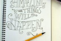 Håndskrift - typografi