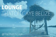 Toes in the Water / Relax and unwind at the beautiful Thatch Caye Resort in Belize with never-ending ocean views, over-the-water bungalows, relaxing hammocks, and a swim up bar.