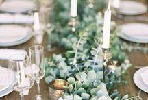 Inspirations mariage / Voici quelques idées à réaliser avec des bougies LED, pour éviter les risques d'incendie et vivre sans inquiétude la plus belle des fêtes.
