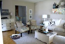 Organized Living Rooms / by Laura (Organizing Junkie)