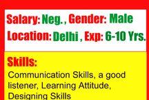 Jobs in Service Industry / Lead Designer