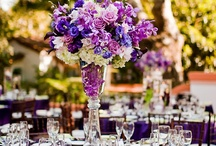 Flower wedding centrepiece