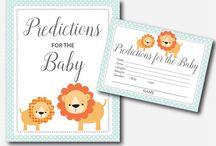 Safari Baby Shower Theme
