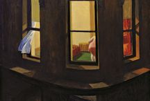 Art/Edward Hopper /  Artwork by Edward Hopper / by Gloria Fraser