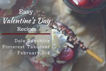 Easy Valentine's Day Recipes / Food is the way to a person's heart, wouldn't you agree? From appetizers to desserts, get inspired to go all out this Valentine's Day with the help of these easy recipes featuring Dole products from our Blogger Ambassador, Ally Philips, of Ally's Kitchen!