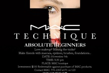 MAC Technique Classes / by Duty Free
