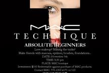 MAC Technique Classes / by Duty Free