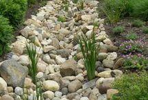 Záhrada - suchý potok