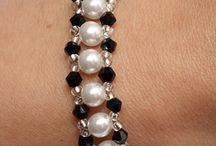 bracelet en perle et  pendentif