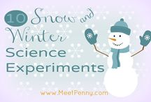 Winter Science Experiments for Young Children