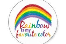 Rainbow Is My Favorite Color ! :) <3 / Rainbows & Colorfulness / by Jana Nelson
