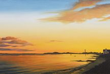 Seascapes / Some of my paintings and sources of inspiration for making them