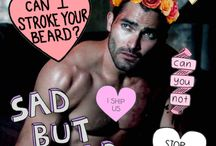 WHY DOES THIS WORLD HATE ME Tyler Hoechlin, Teen wolf Males)