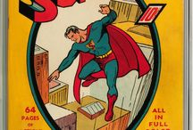 Superman Comic Books Covers #1-80 / Covers of vintage Superman Comic books #1-80