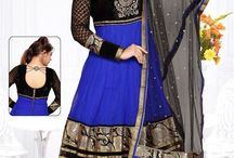 Readymade Anarkali Salwar Suits / Get dressed in elegant & sober collection of ready made anarkali salwar suits available in 38,40,42 & 44 sizes. Add one of them in your closet from http://www.mishreesaree.com/Online/New-Arrivals/Latest-Salwar-Kameez