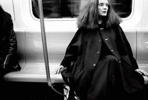 American Vogue's creative director Grace Coddington by Craig McDean for the latest edition of Interview magazine