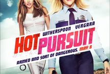 Hot Pursuit / An uptight and by-the-book cop (Reese Witherspoon) tries to protect the sexy and outgoing widow (Sofia Vergara) of a drug boss as they race through Texas pursued by crooked cops and murderous gunmen.
