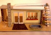 dollhouses DDR / The dollhouses from former east Germany are so well designed and a joy for your eyes.