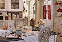 Dans la maison : la cuisine