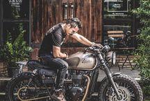 Cafe racer,scrambler and custom motorcycles