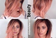 Hair rose golden