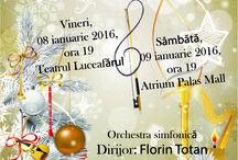 Ianuarie 2016 / Concertele începutului de an