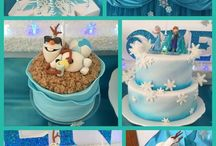 Frozen birthday party theme