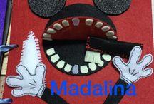 Quiet book Madalina