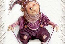 Нина и Светлана Михайловы - авторская кукла