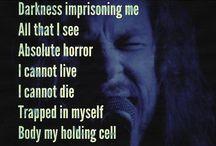 METALLICA - LYRICS / QUOTES / Metallica - Lyrics/Quotes Photos
