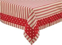 Tablecloths and table mats and table runners