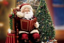 Kinkade Christmas decorations